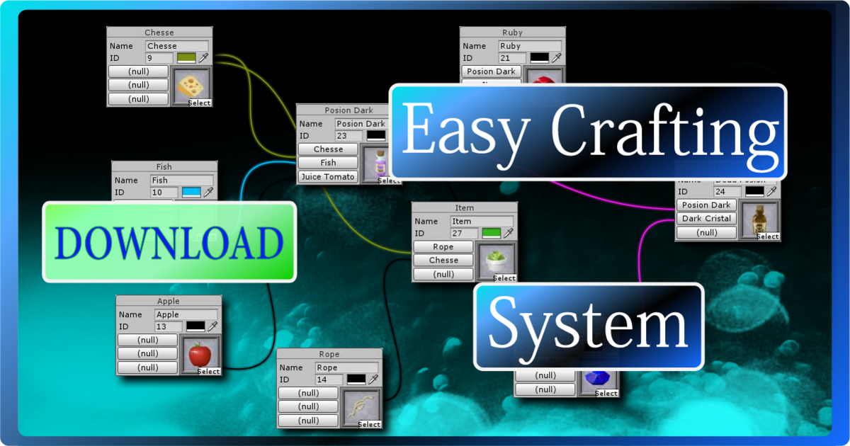 Easy Crafting Systems