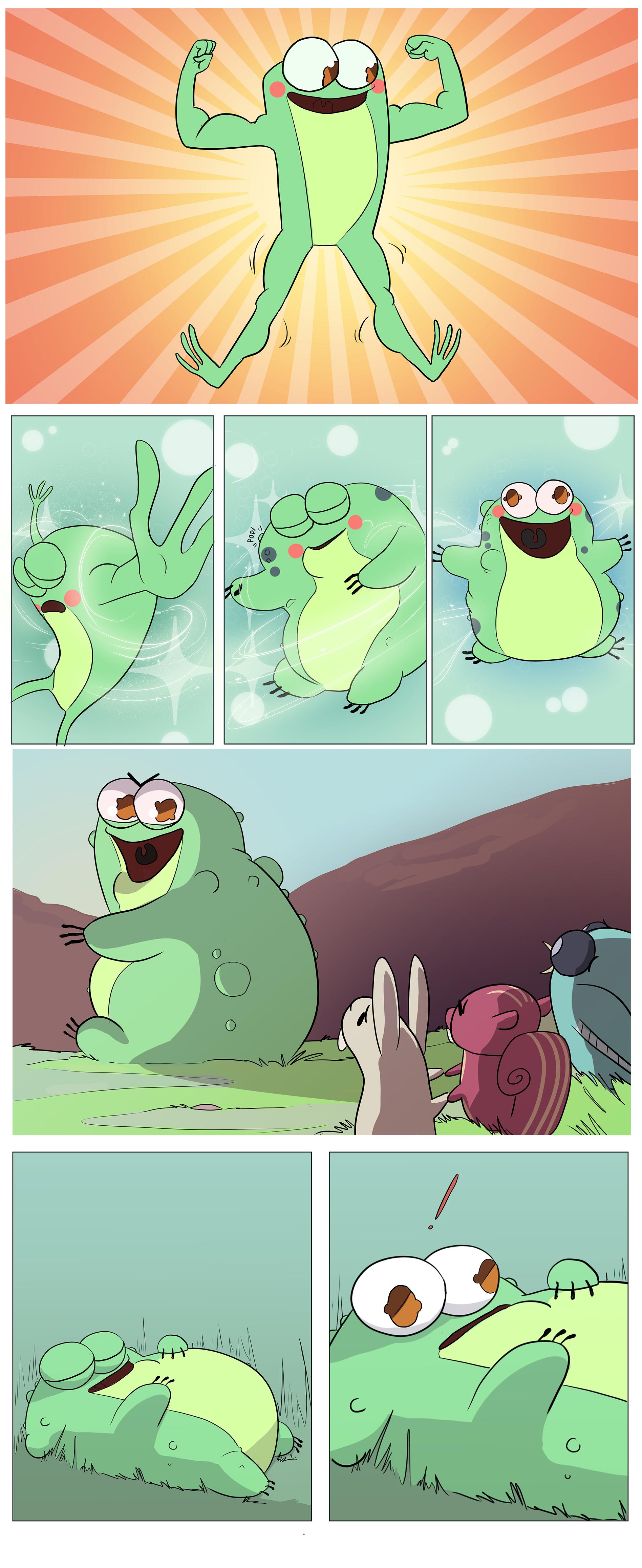 Toadled Mini Comic