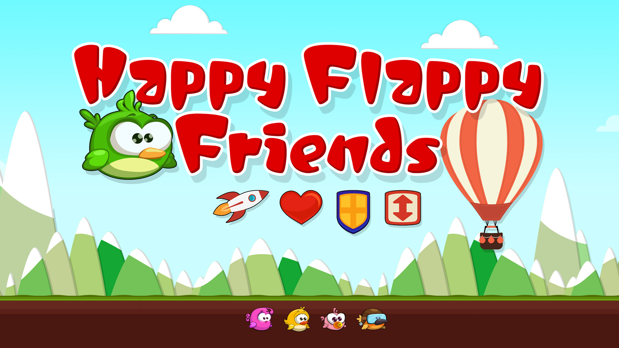 Happy Flappy Friends