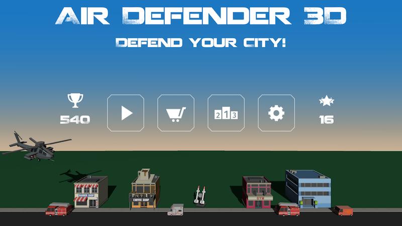 Air Defender 3D