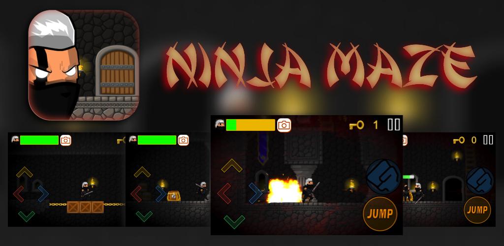 Ninja Maze Under