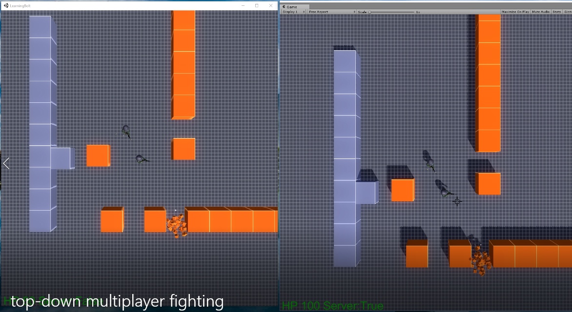 Top-Down Multiplayer Fighting (Prototype)