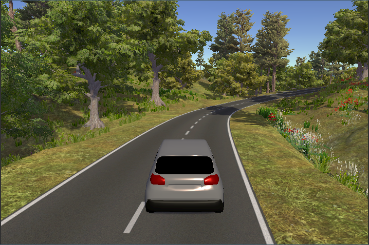 Creating a little driving sim & working with audio & terrain