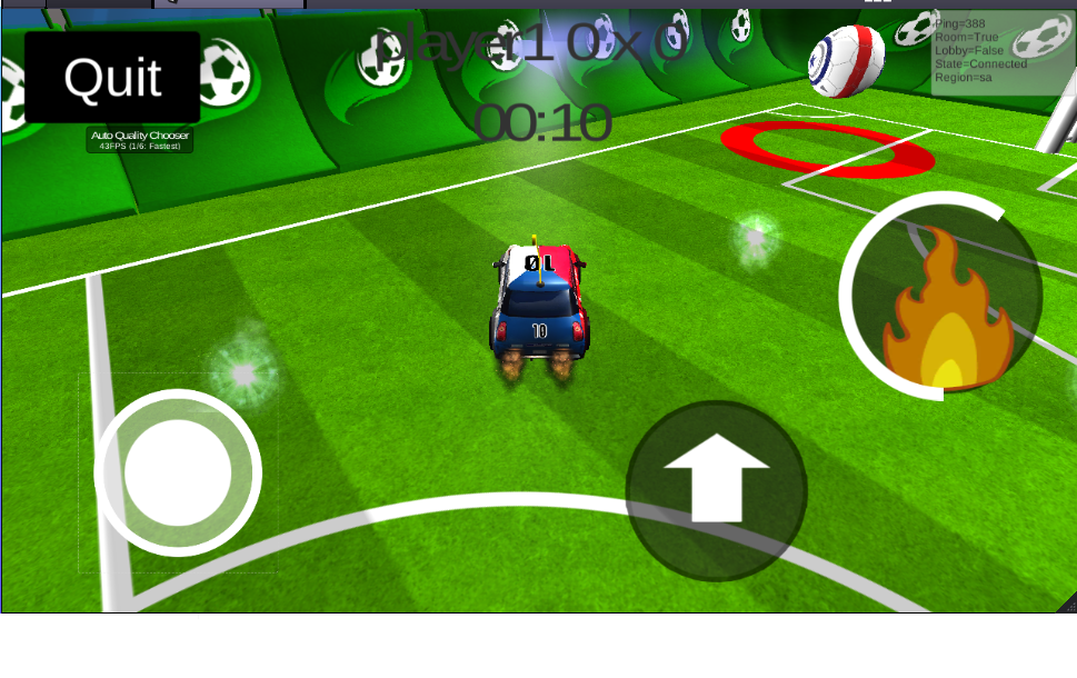 Rocket Goal Car Soccer League