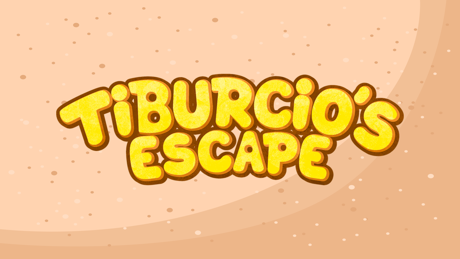 Tiburcio's Escape User Interface