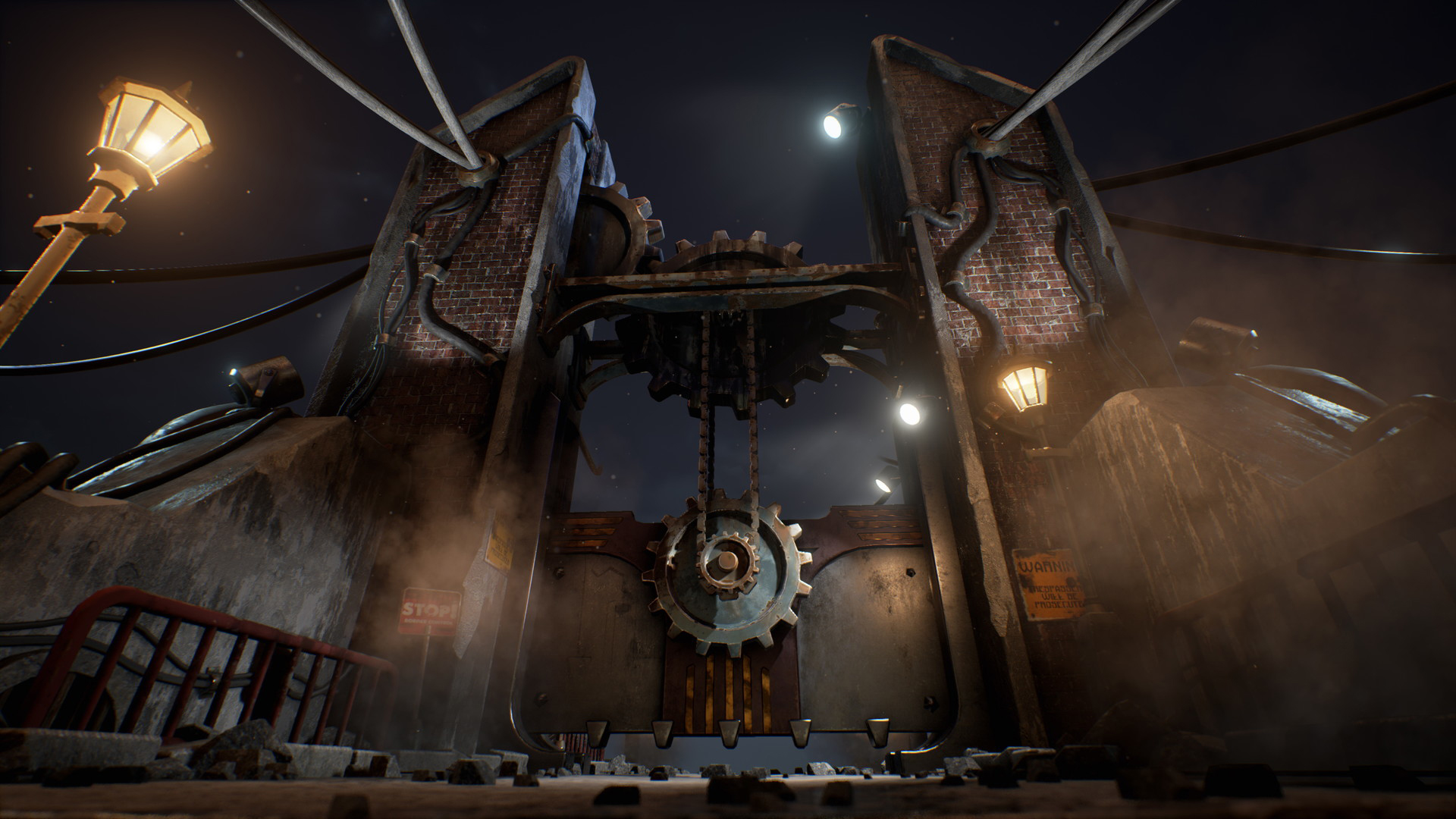 3D Steampunk Environment