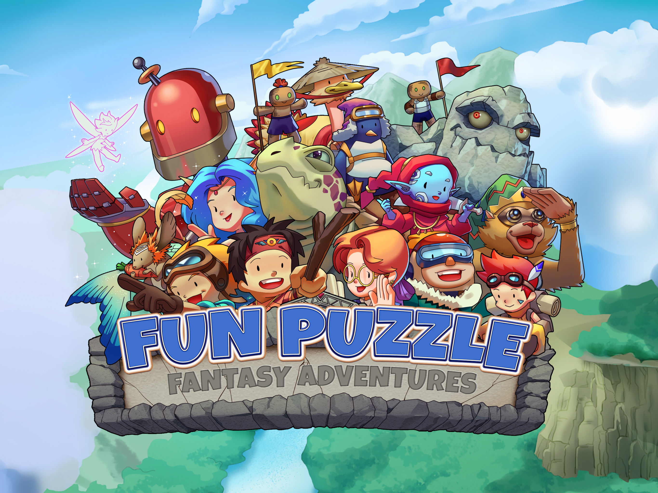 Fun Puzzle: Fantasy Adventure