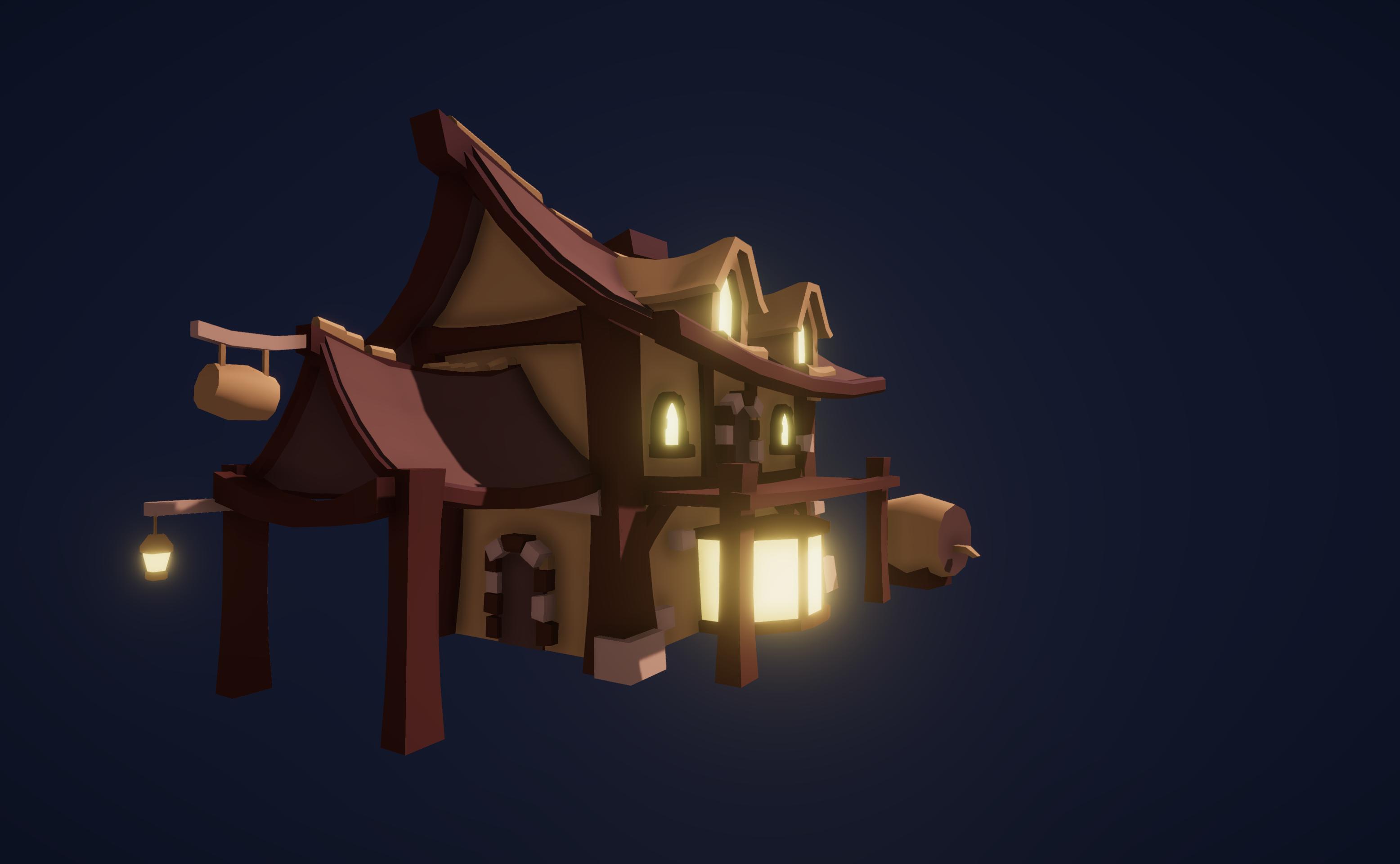 Tavern - LowPoly