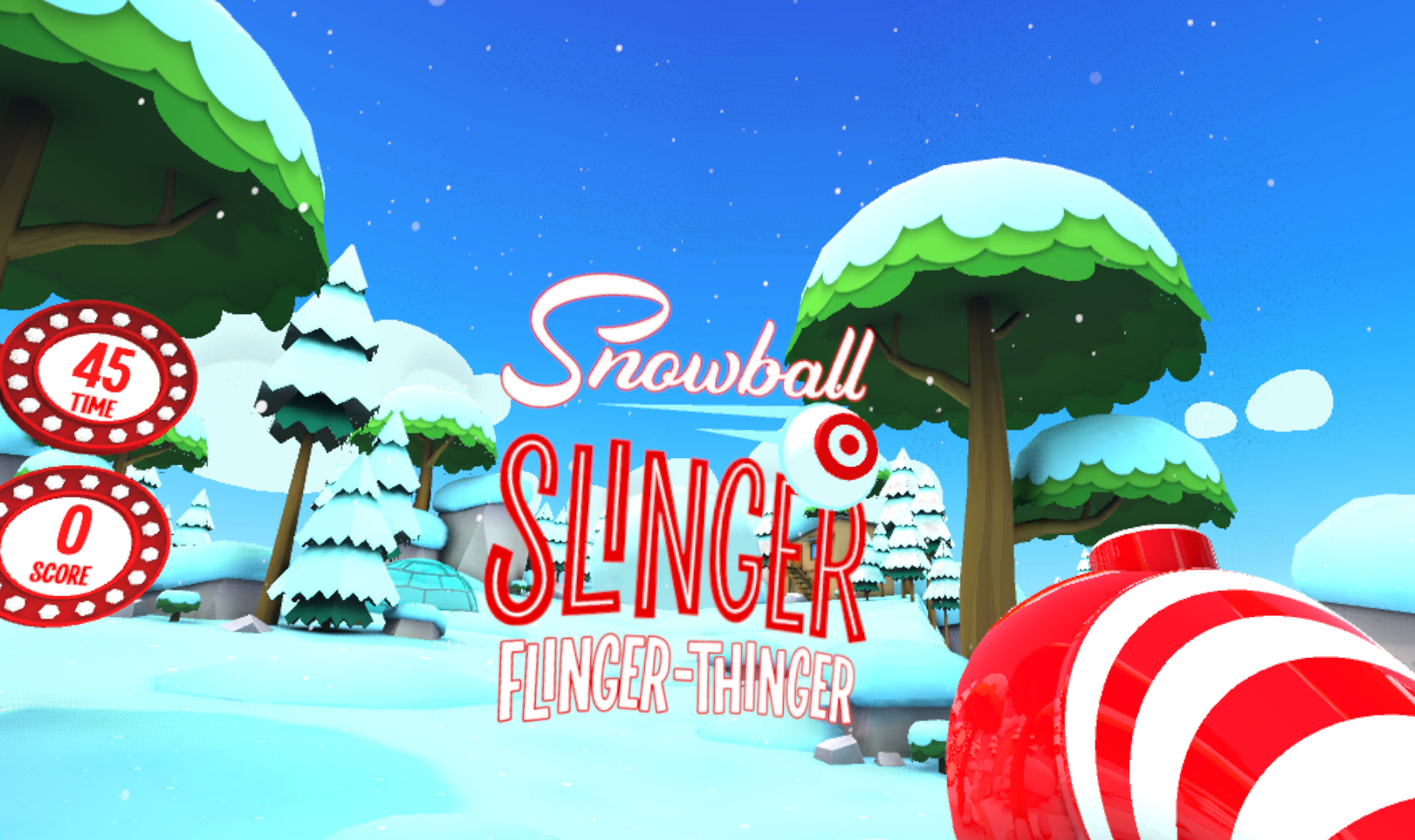 Snowball Slinger Flinger-Thinger