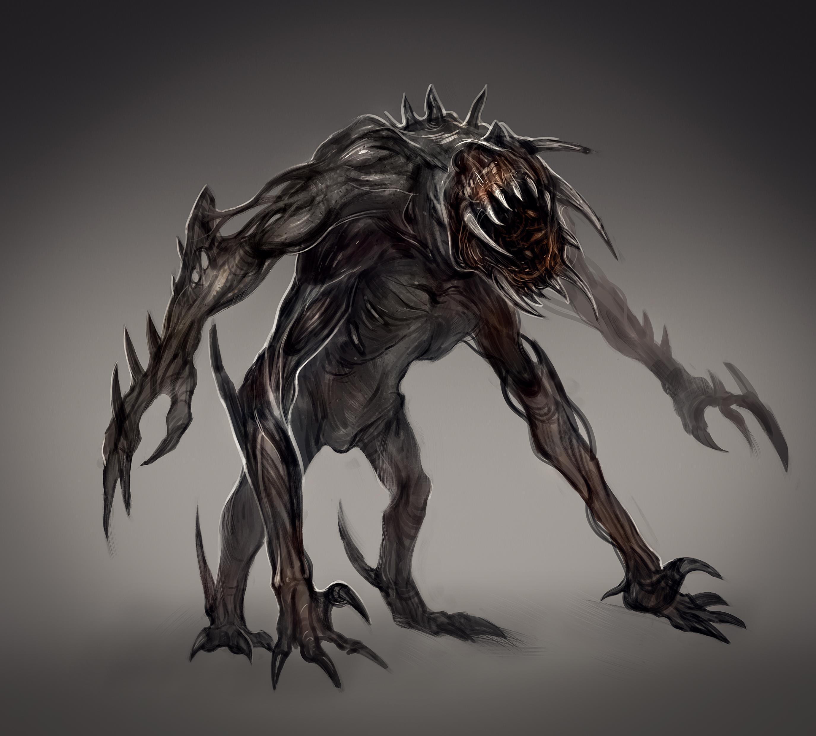 2D Creature Concept Art