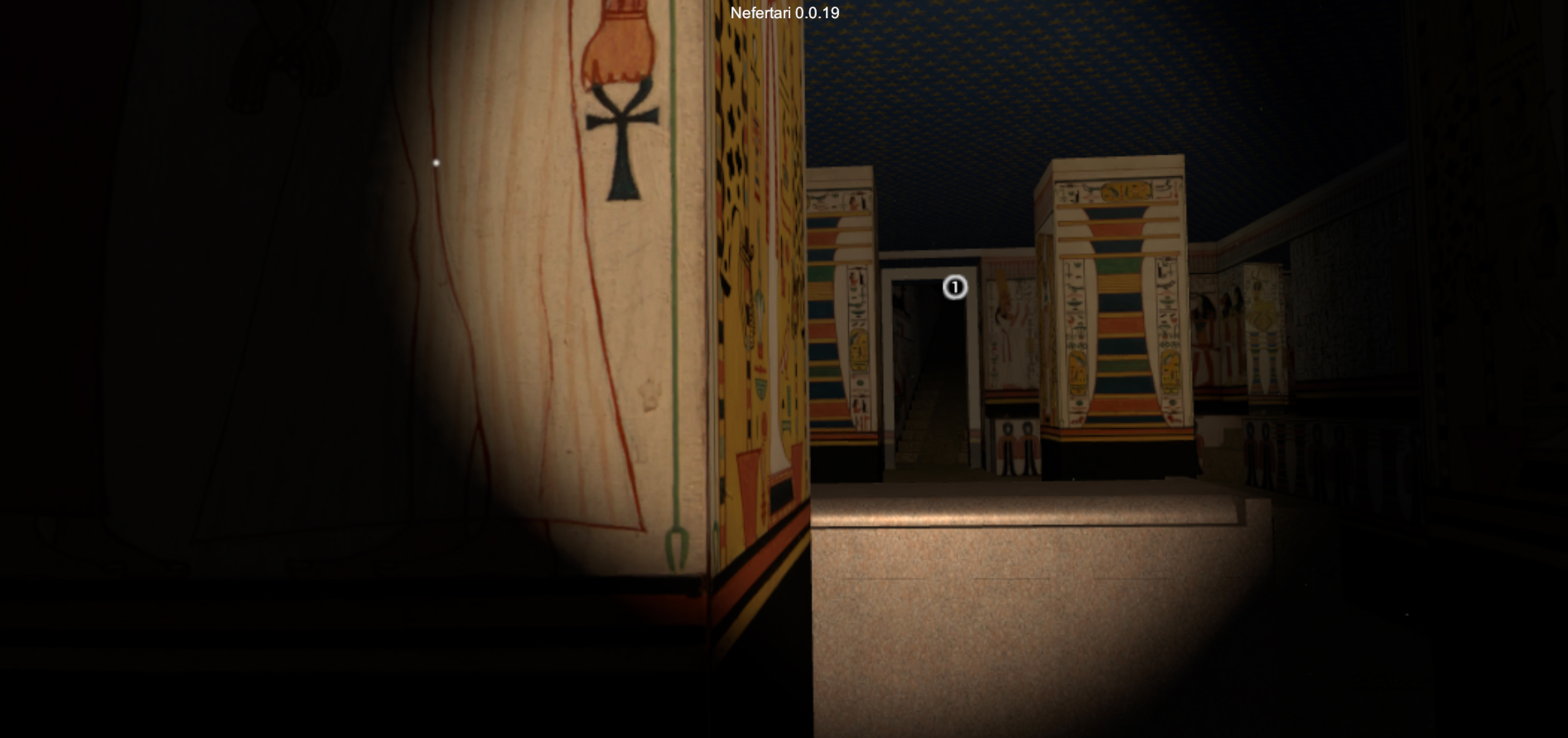 The Tomb of Nefertari, a VR Experience Prototype