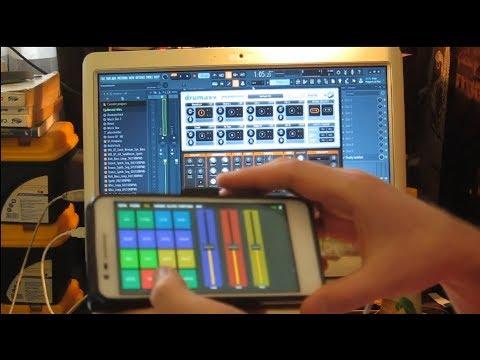 Видеокурс по созданию электронной музыки в FL Studio 20 - Управление смартфоном Image Line Remote