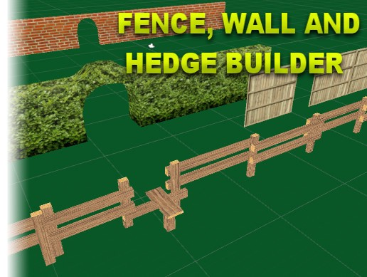 Fence, Wall and Hedge builder
