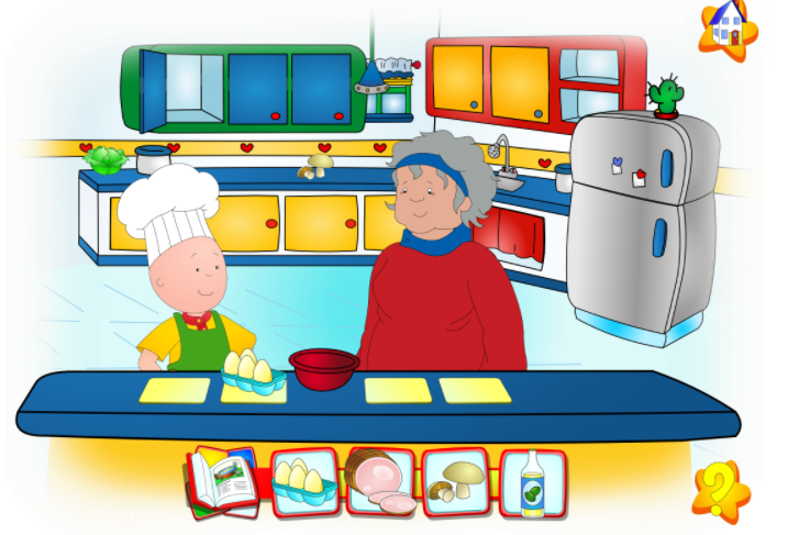 Caillou Let's Pretend (mobile)