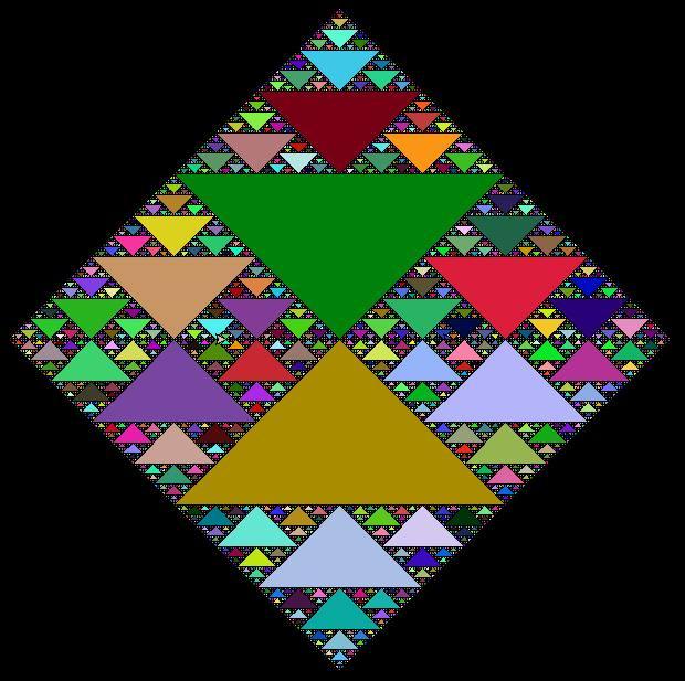 Sierpinski Square Programming Art