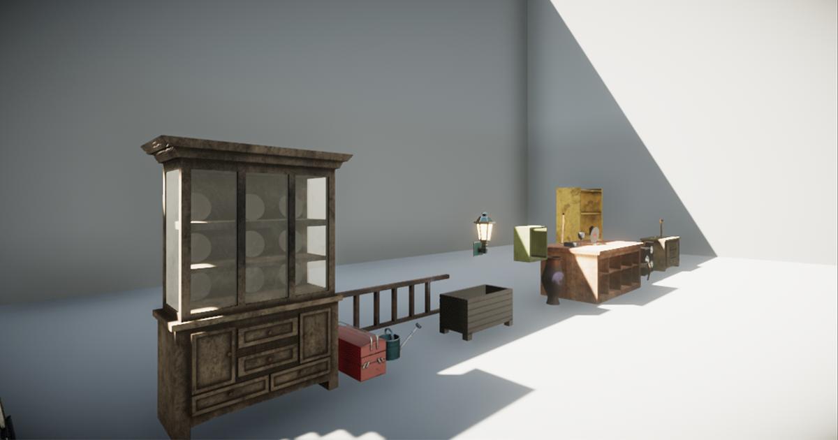 HQ Furniture Pack N°1