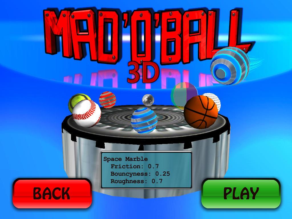 Mad O Ball 3D