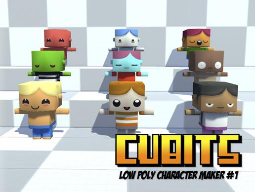 Cubits Low Poly Character Maker #1 (Male)