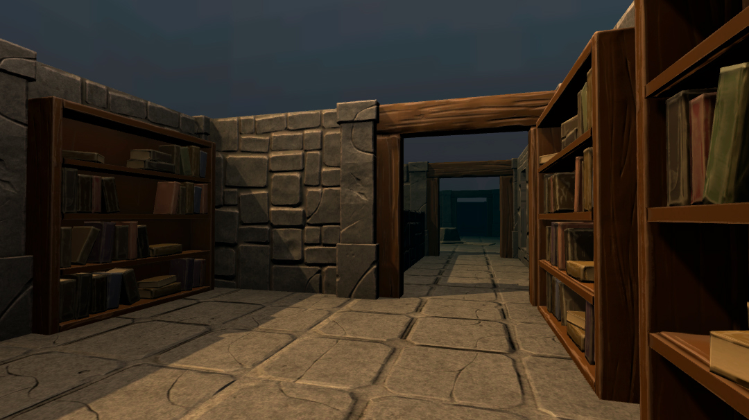 3D environment art for the Game The Stories of Caelum