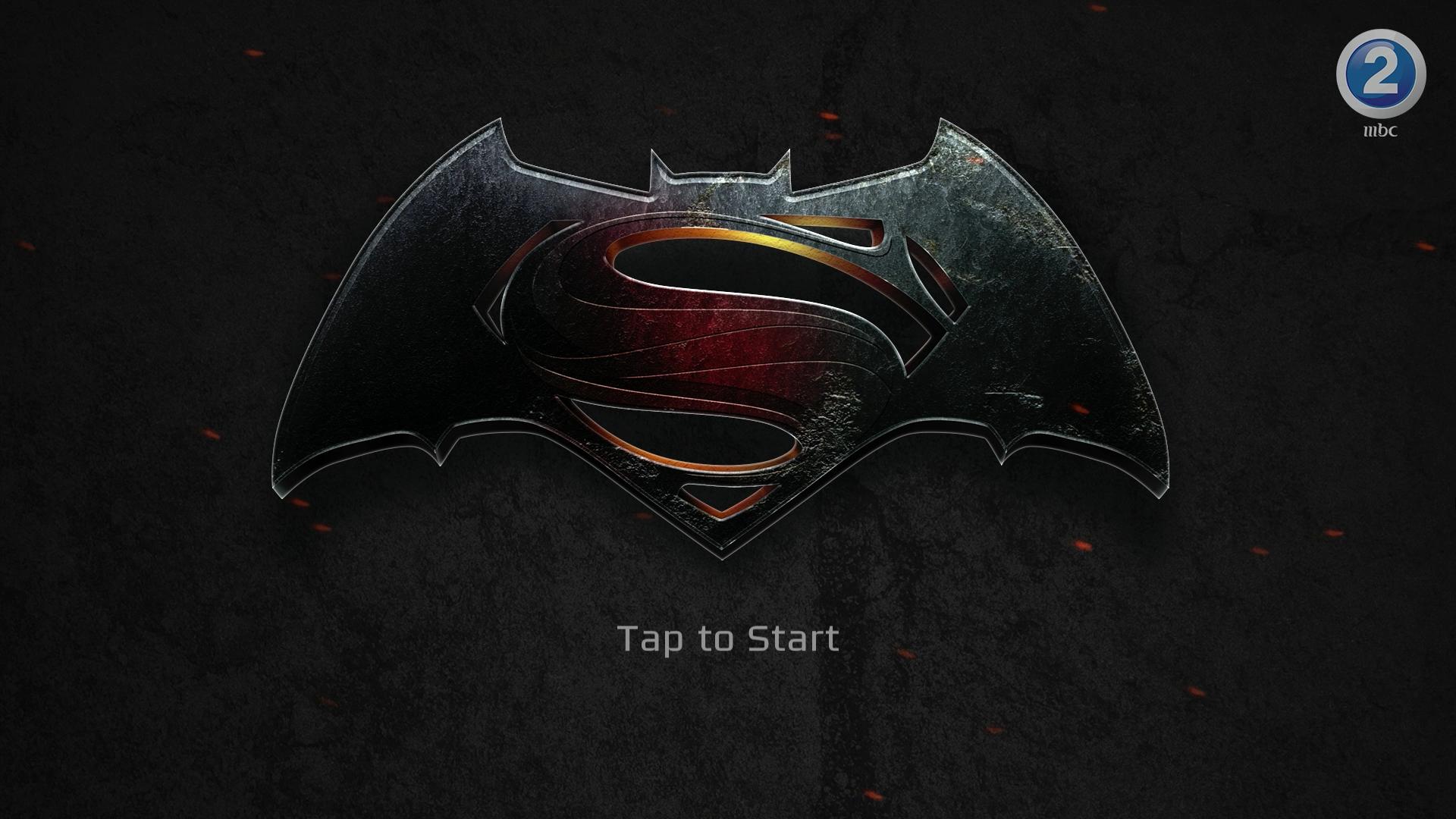 BatmanVSuperman : Puzzle Game | UI/UX