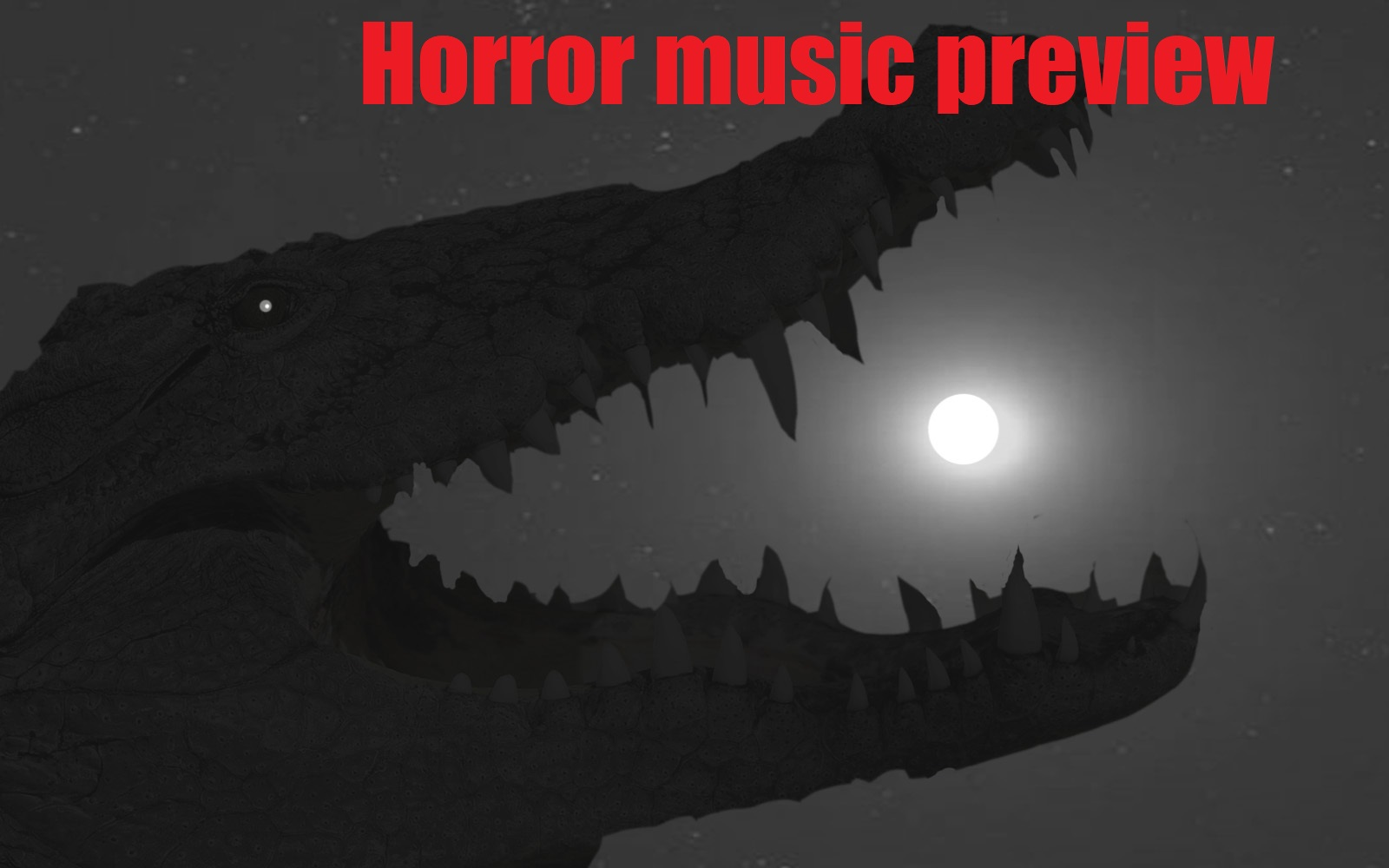 Horror music preview