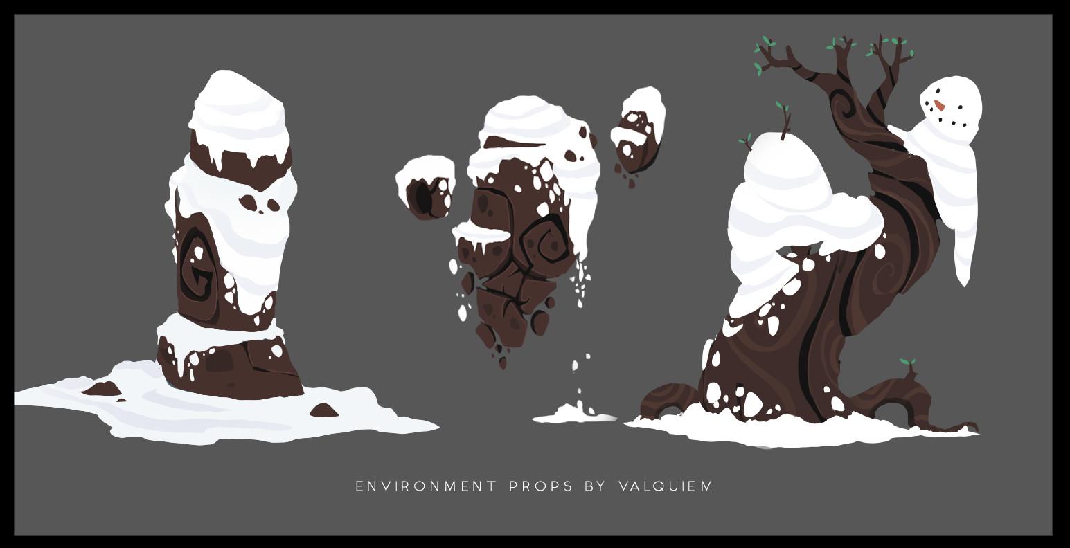 Environment Props 2D