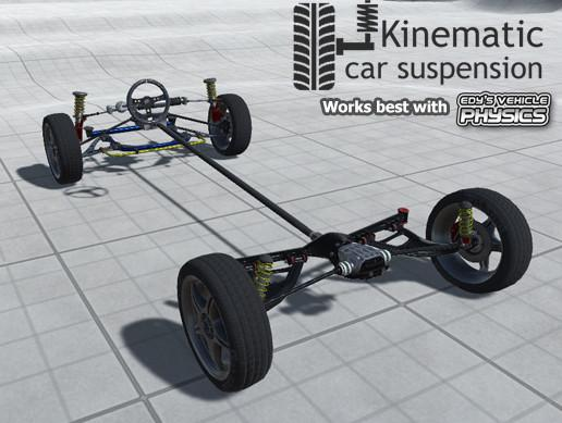 Kinematic car suspension - sport car