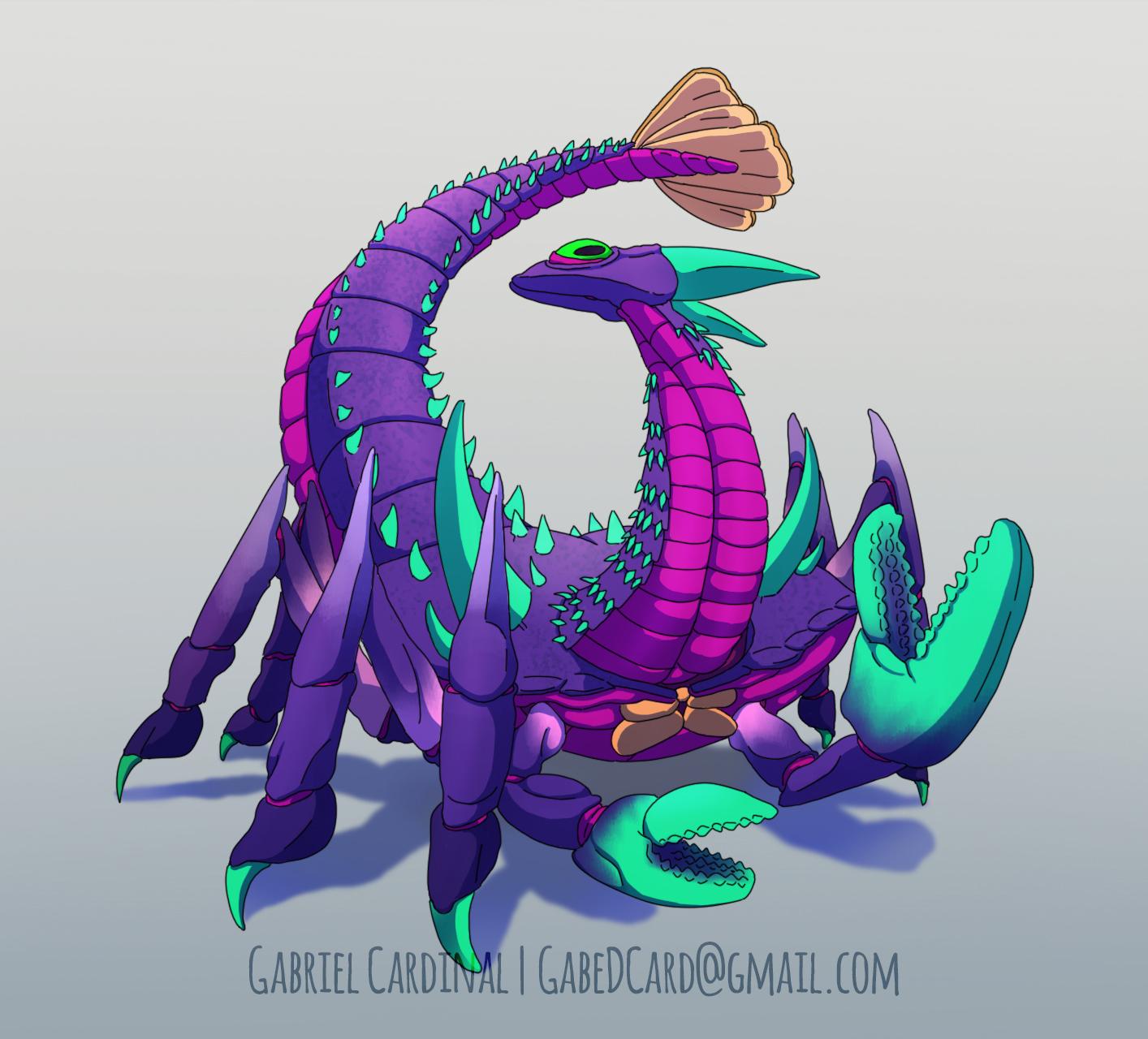 Crab Kaiju Redesign