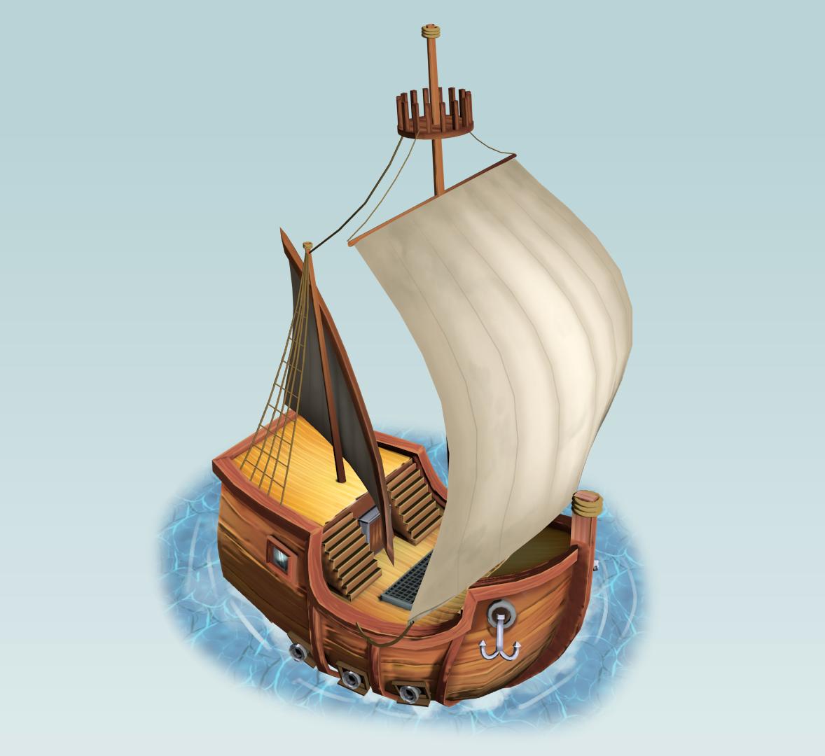 Chibi Ship