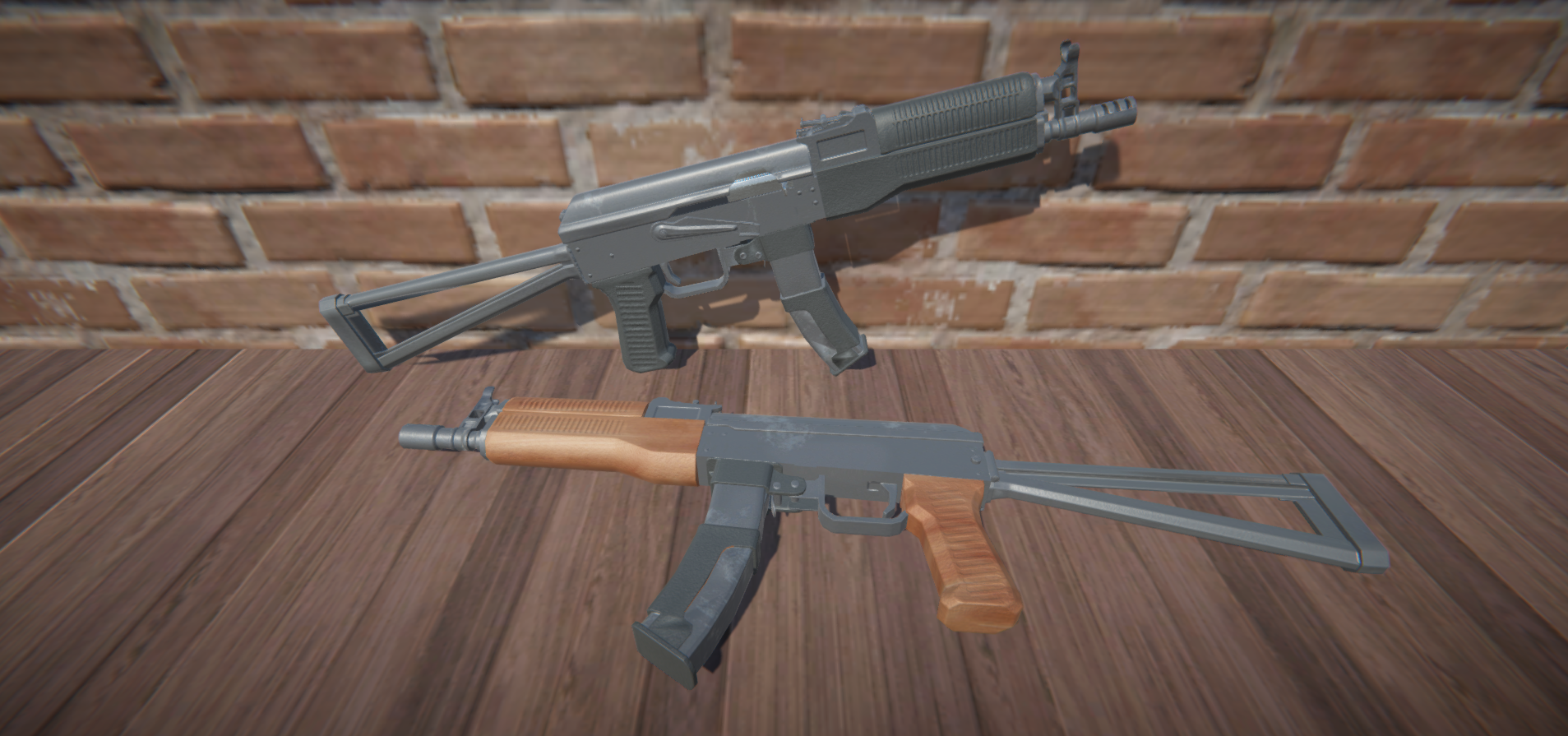 9mm AK animations