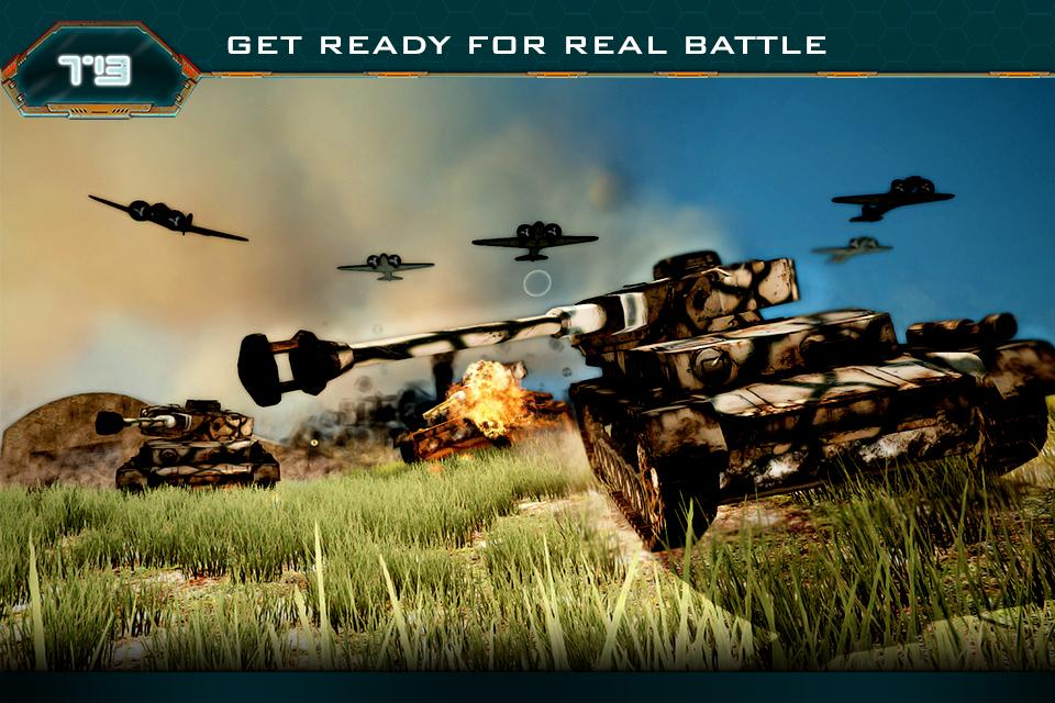 Tank Battle 3d World War Hero