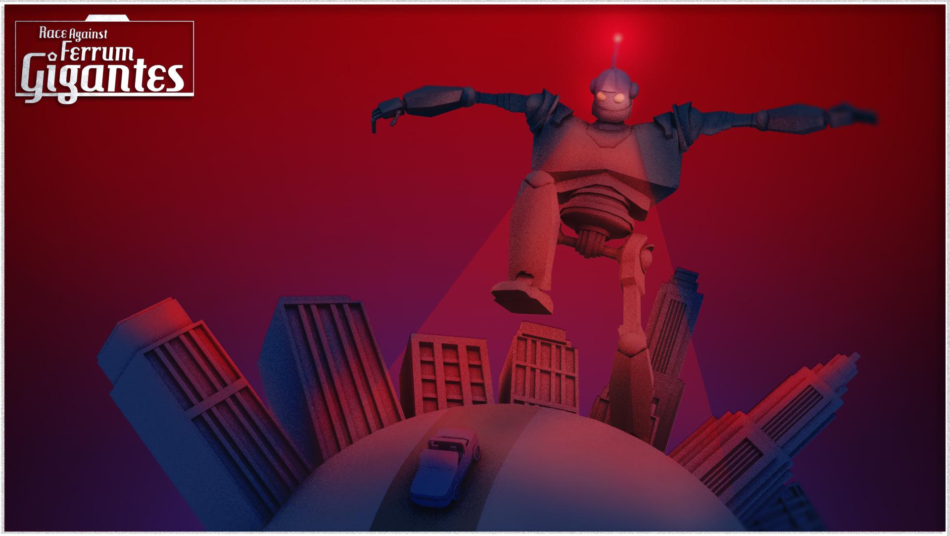 Ludum Dare 38- Race against ferrem gigantes