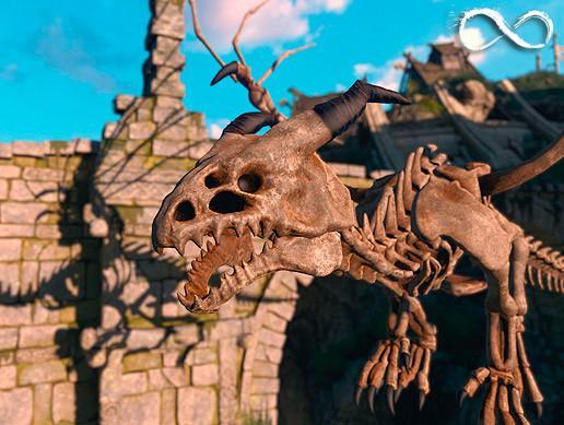 Bone Dragon Pack PBR