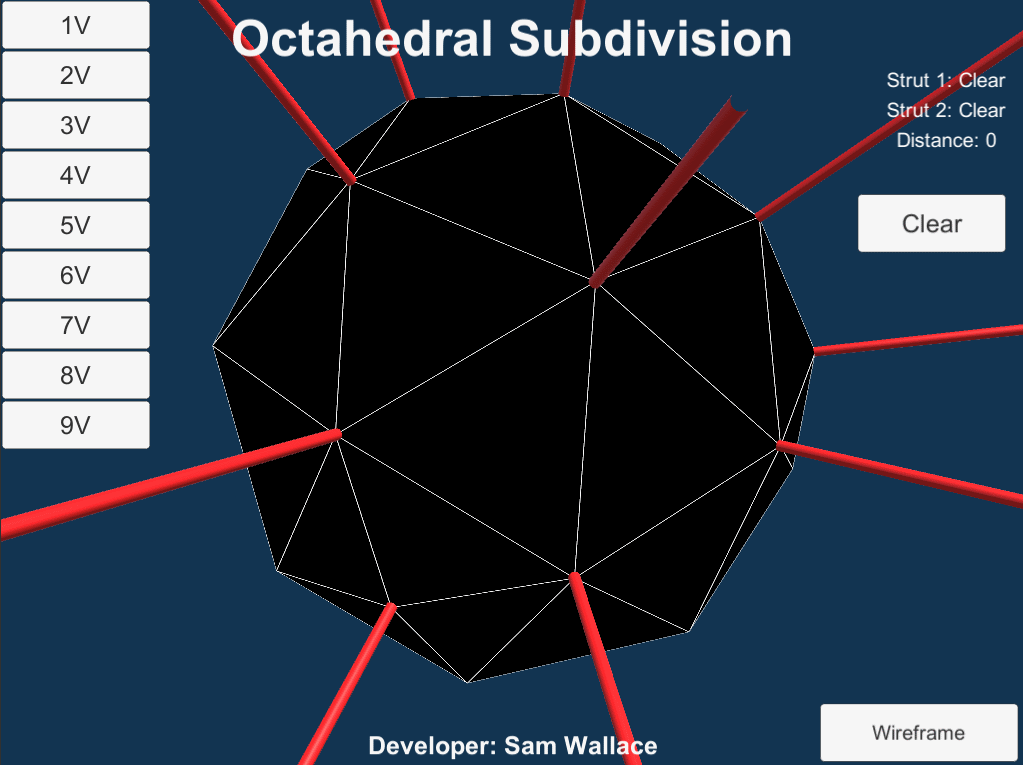 Geodesic Dome Simulation