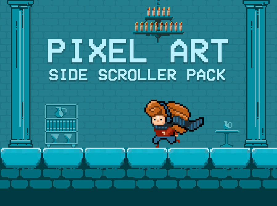 Pixel Art Side Scroller Pack