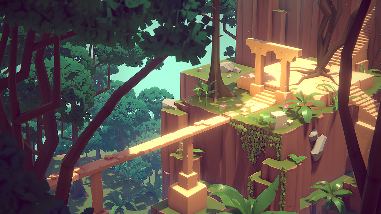 Stylized Jungle - Modular Assets