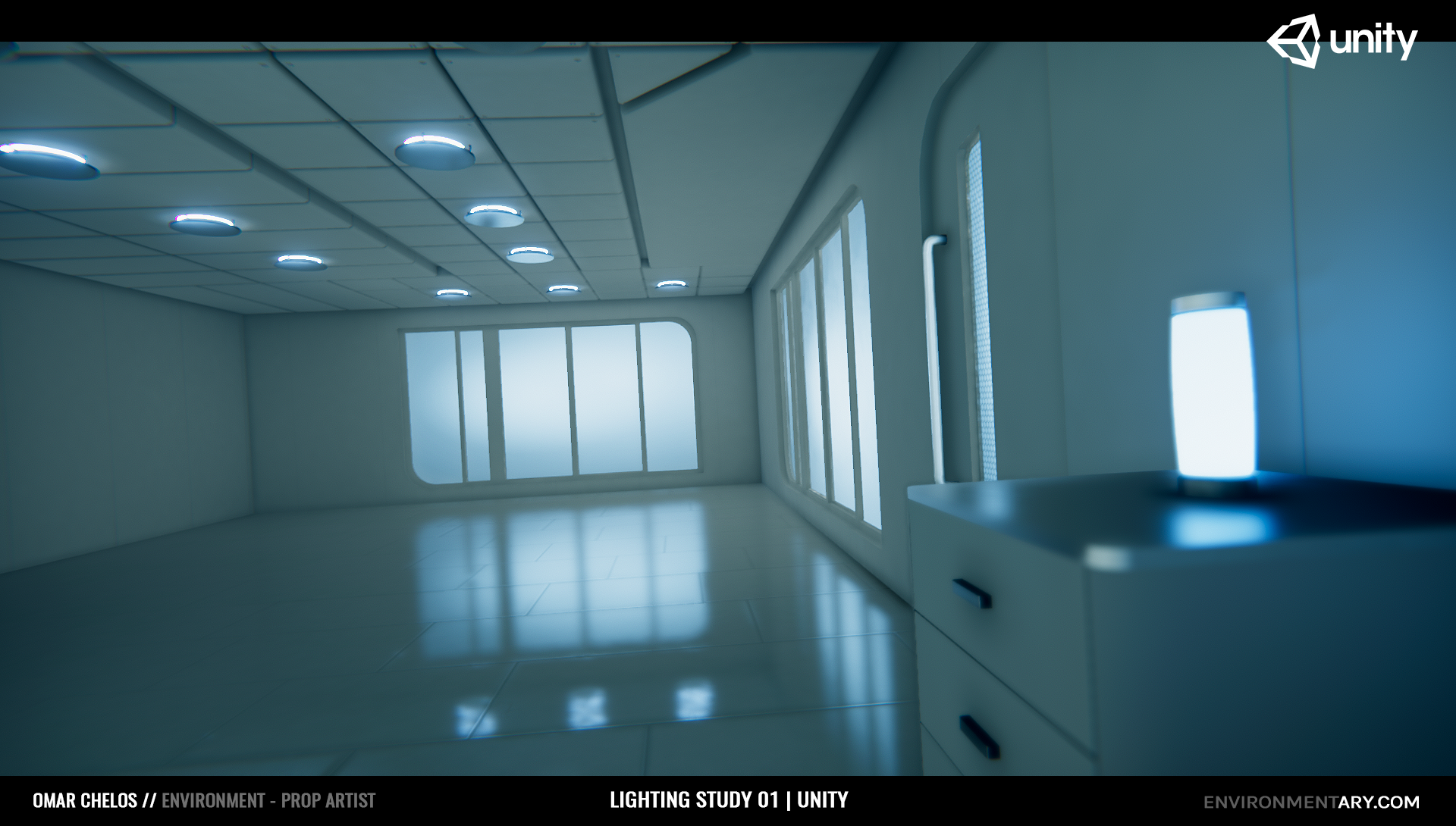 Cinematic Lighting Study 01 | Unity