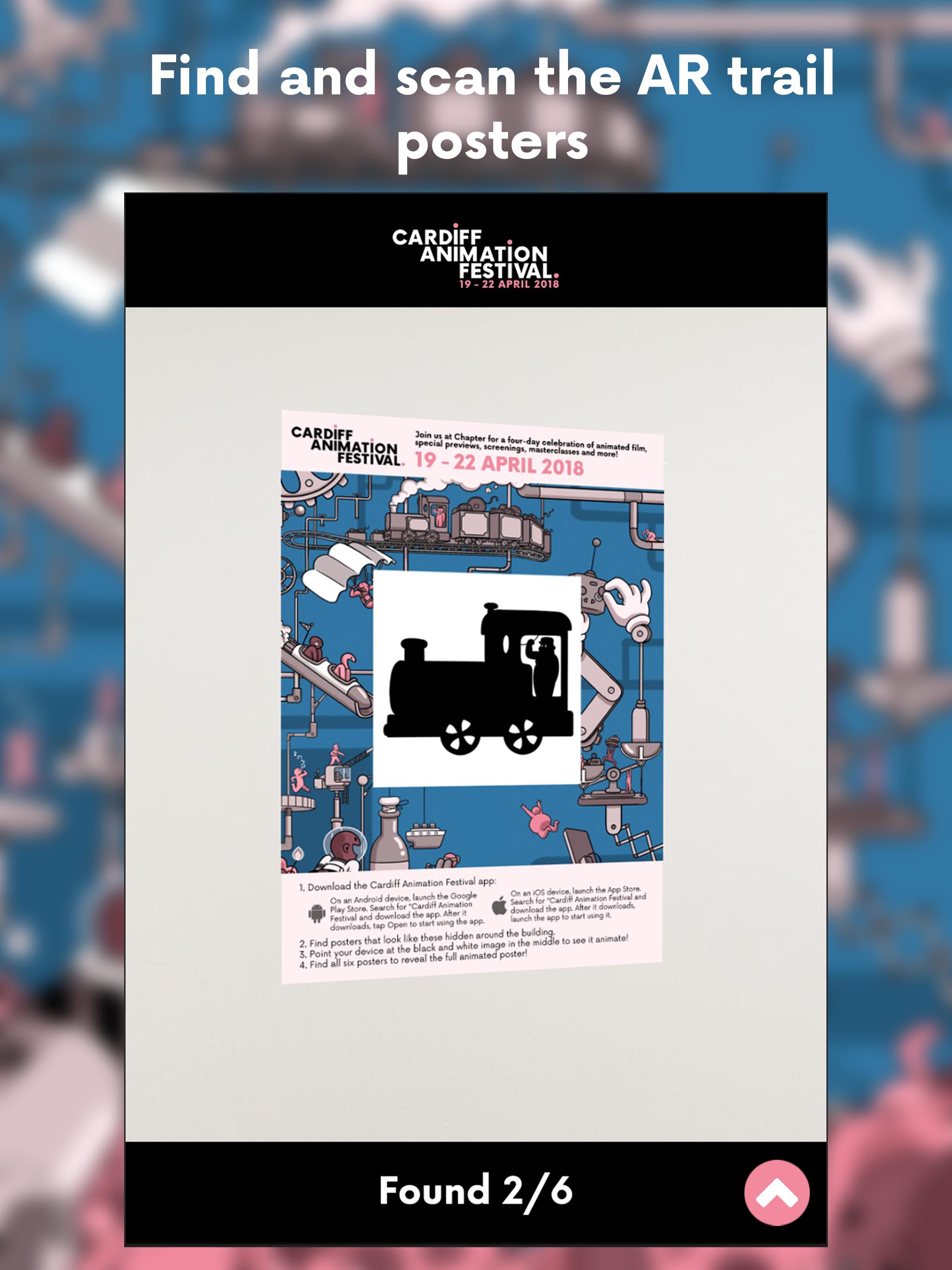 Cardiff Animation Festival AR Trail (iOS / Android)