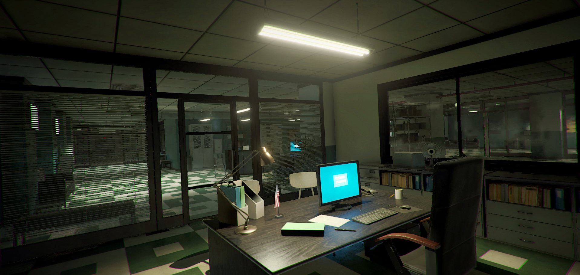 Office and Police Station Pack (Modular)