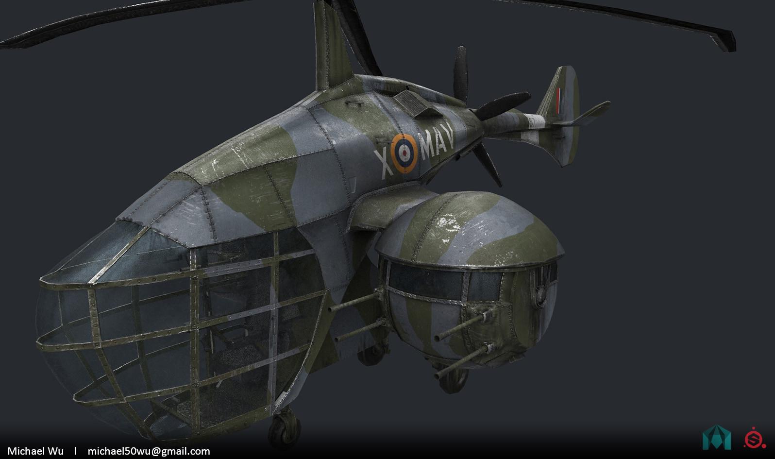 Military Autogyro