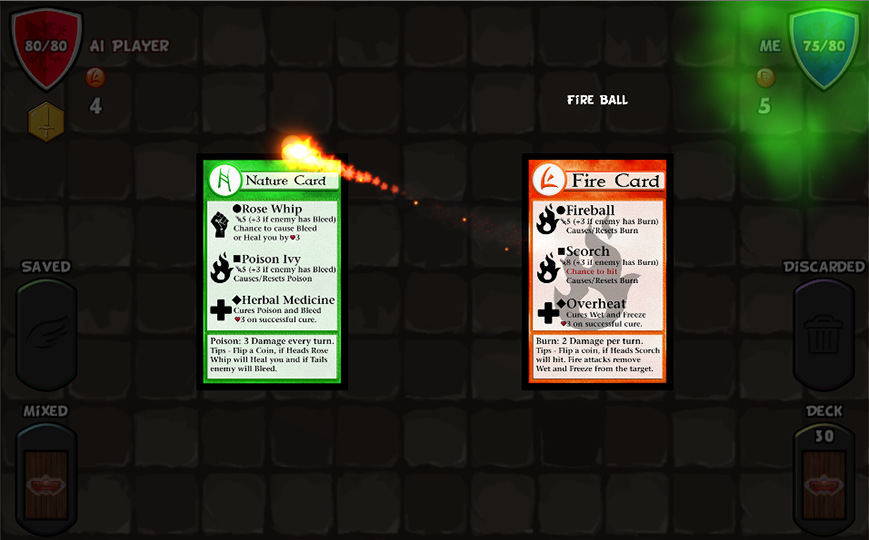 Elements Card Game