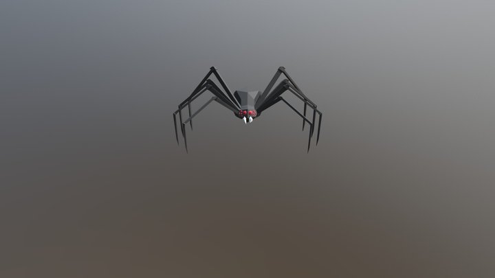 Low-poly Spider