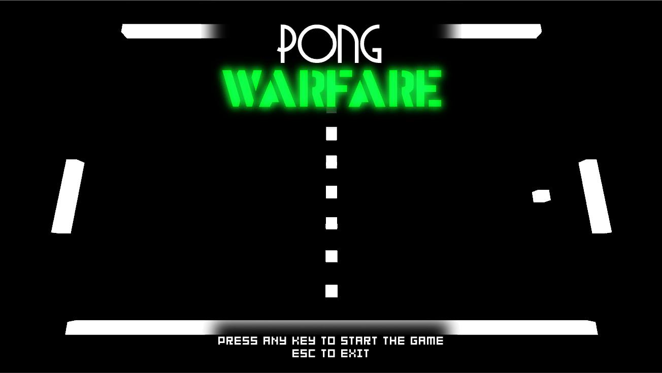 Pong Warfare