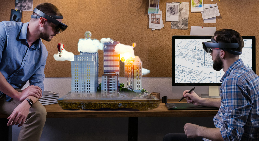 Architecture presentation on HoloLens