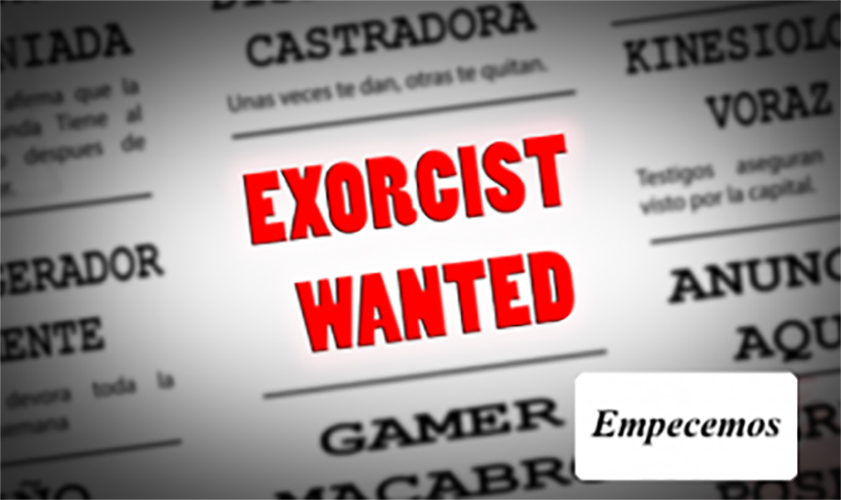 Exorcist Wanted