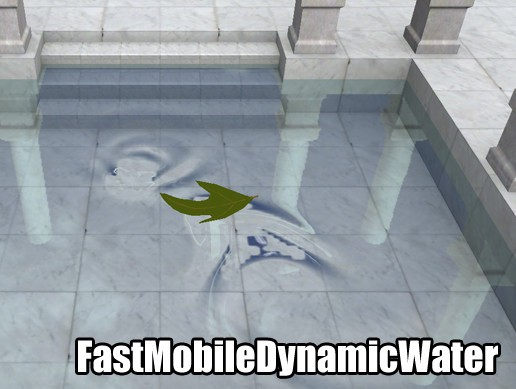 Fast Mobile Dynamic Water