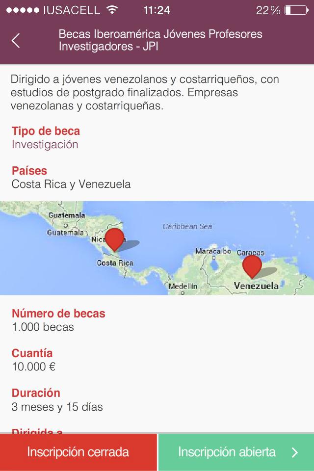 Santander Grants