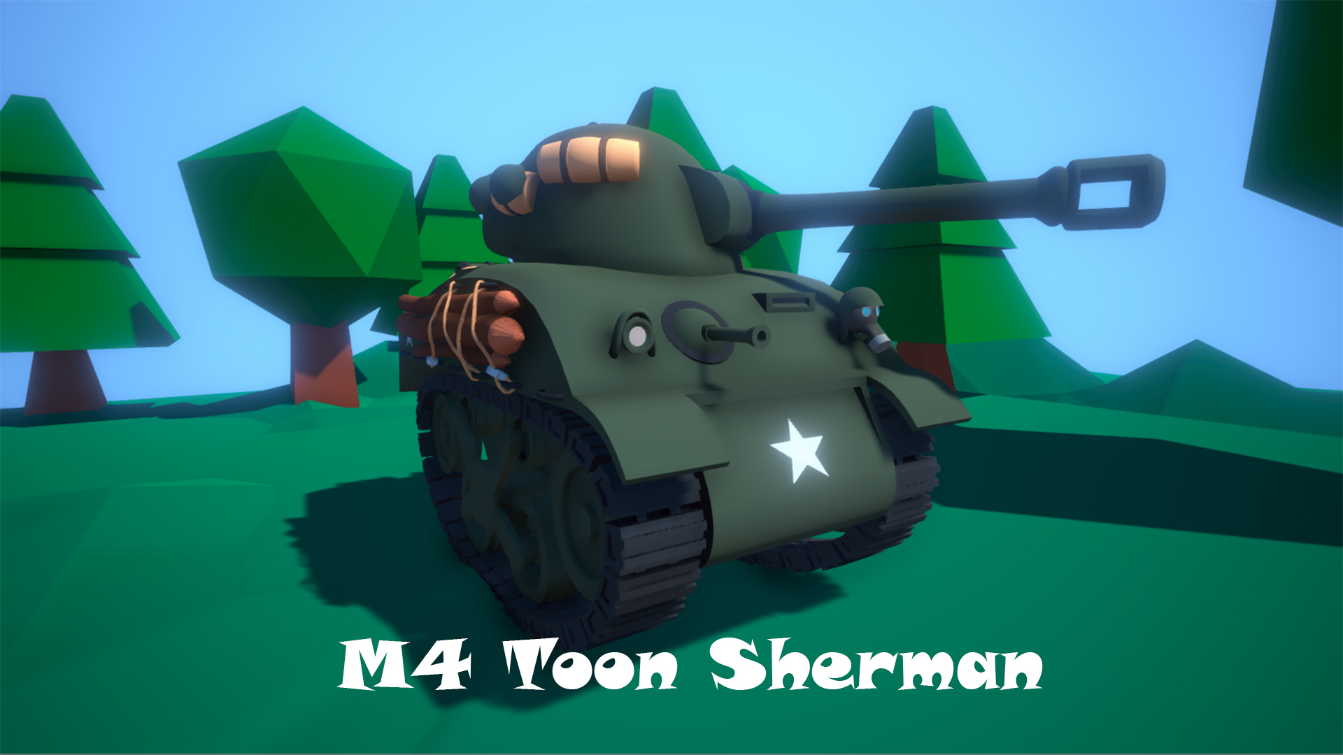 M4 Toon Sherman