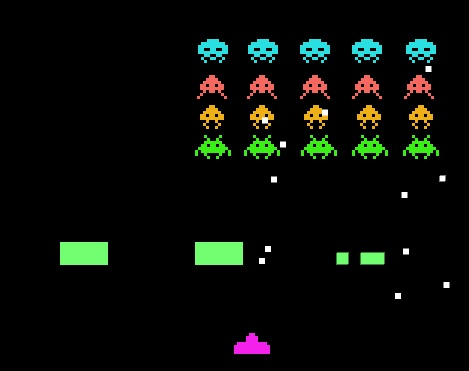 Space Invaders clone