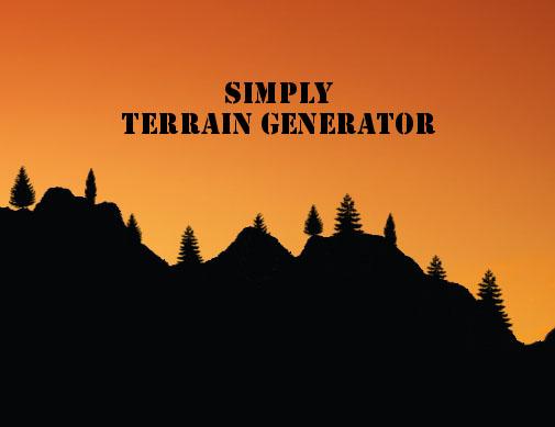 Simply Terrain Generator